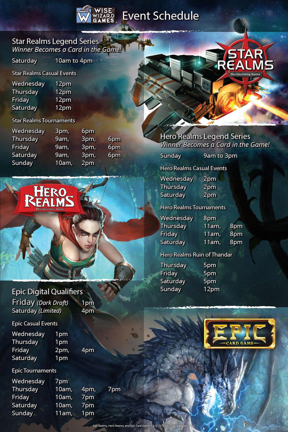 Star Realms Promo Merc Destroyer Gencon Origins 2018 Free Shipping