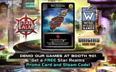 White Wizard Games at Origins Game Fair 2018