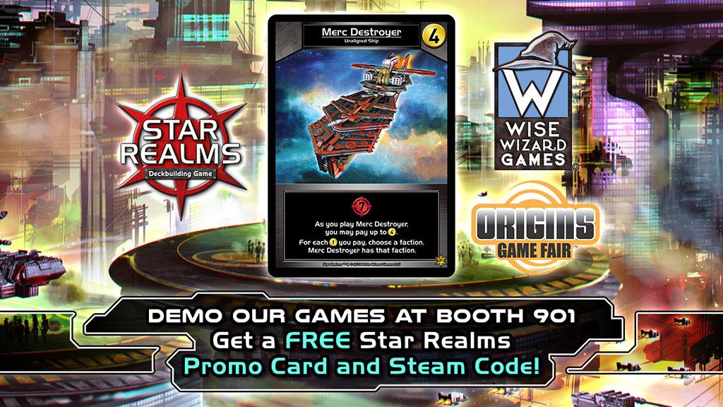Wise Wizard Games at Origins Game Fair 2018