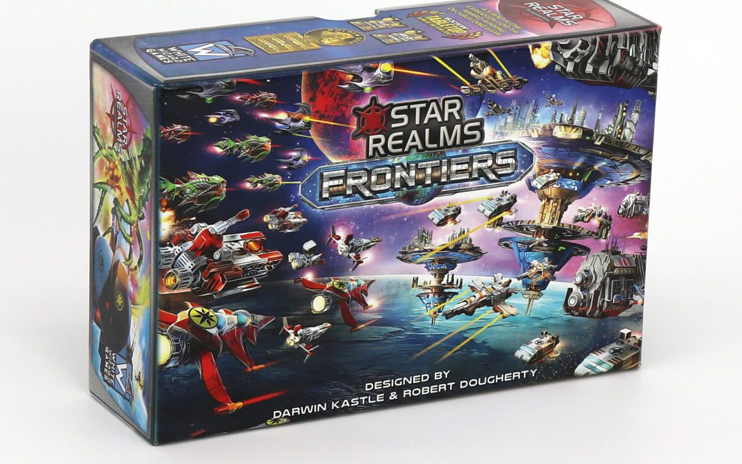 Press Release: Star Realms Frontiers Products Arriving at Game Stores and Conventions Throug The Rest of 2018