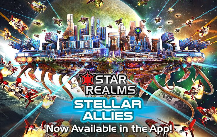 Now Available: Stellar Allies in the Star Realms Digital App!