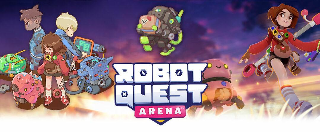 LIVE on Kickstarter! New Robot Quest Deckbuilding Game