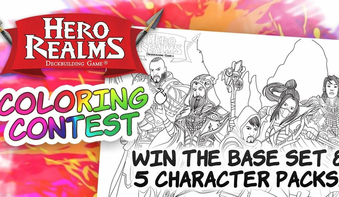 Wise Wizard Games Coloring Contest!